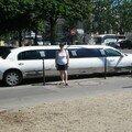 petit tour en limousine(je rigole)
