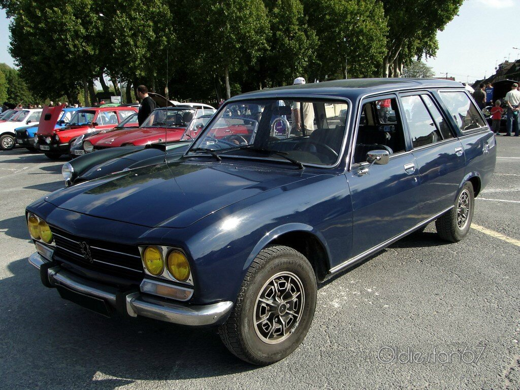 peugeot 504 break 1971 1983 oldiesfan67 mon blog auto. Black Bedroom Furniture Sets. Home Design Ideas
