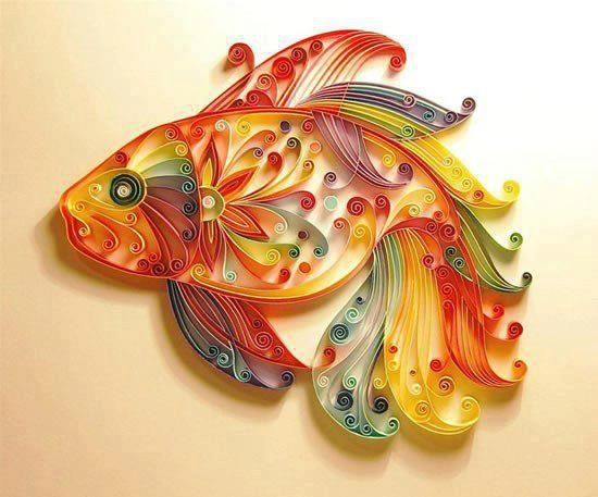 poisson multicolore