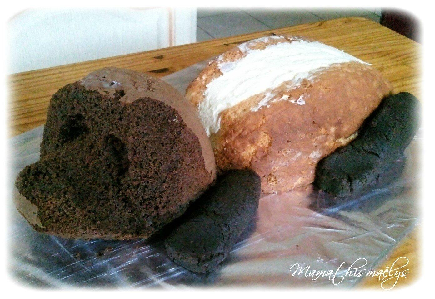 Assez Gâteau chien 3D - La petite cuisine de Nini  HN87