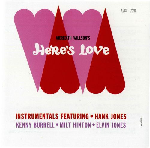 Hank Jones - 1963 - Here's Love (Argo)