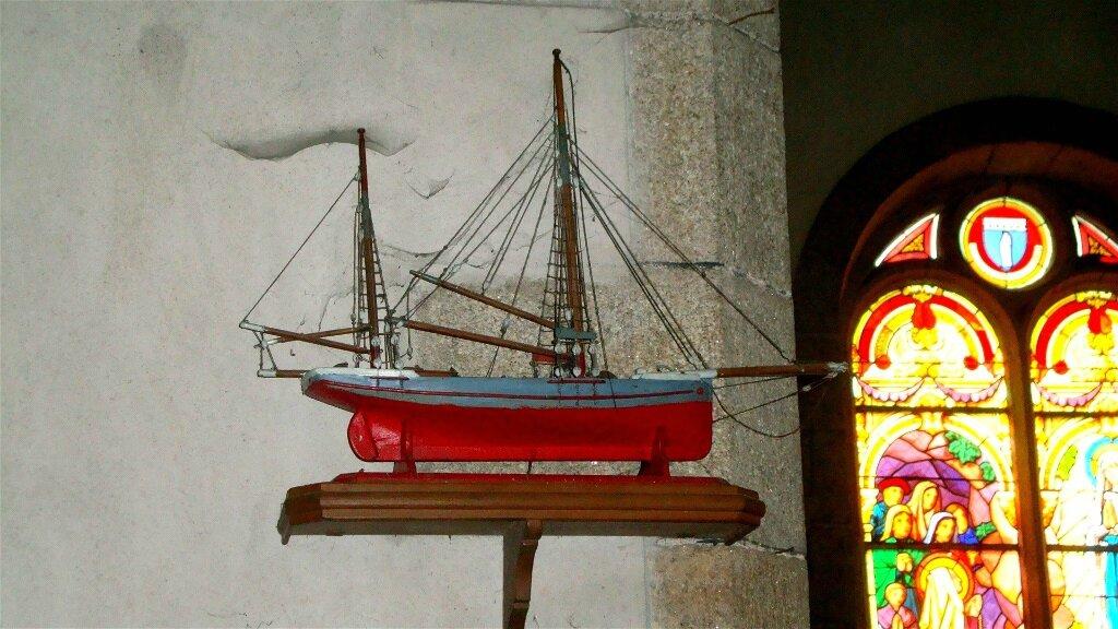 2015 - Eglise de Port-Launay - maquette du St Nicolas