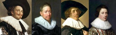 Portraits hollandais 1623-1627
