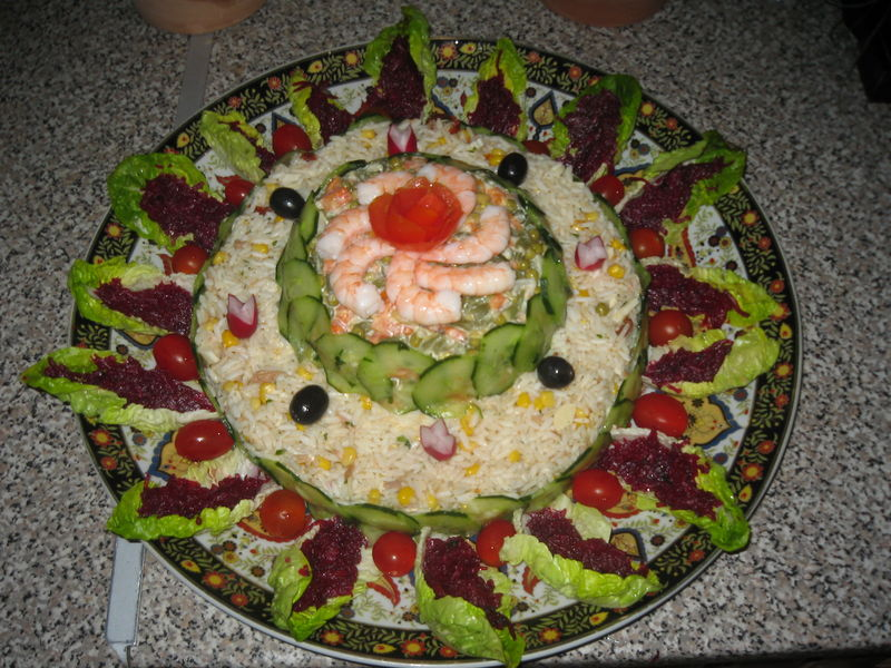 D co salade le blog de for Plat decoration traiteur