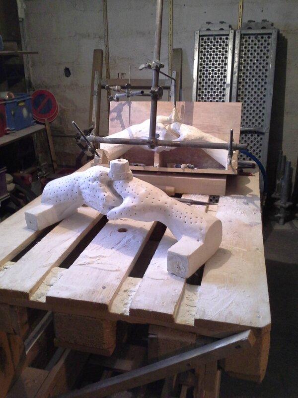 Fulbert DUBOIS - sculpteur - Marbre - mise aux points (1)