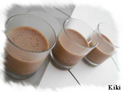 Mousse légère au chocolat