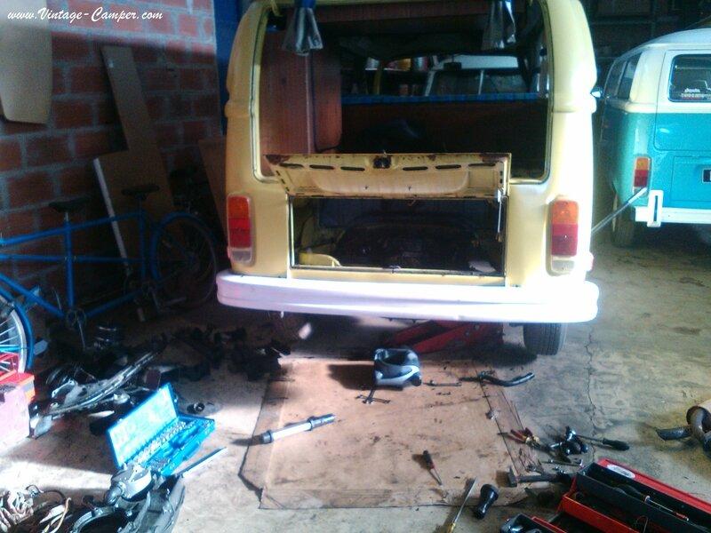 démontage moteur 1600 Combi