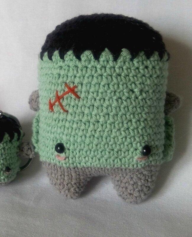 Frankeinstein crochet 3