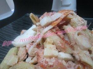 Salade de pâtes au thon et surimi19