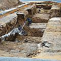 Fouilles archéologiques sur la place du petit-champ à gien (loiret)