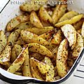 Pommes de terre rôties au thym & au piment