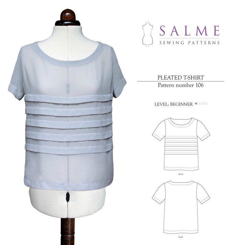 106_Loose_fitting_pleated_t_shirt_pattern_1024x1024