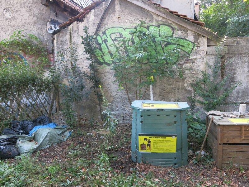 nettoyage compost