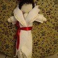 manteau en feutrine - ronde des poupées