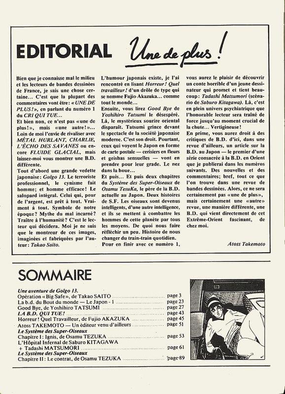 exemple d editorial de magazine