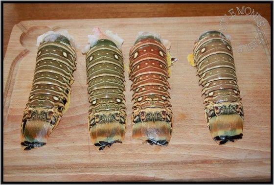 Recettes queues de langoustes surgel es - Recette queue de langouste grillee au barbecue ...
