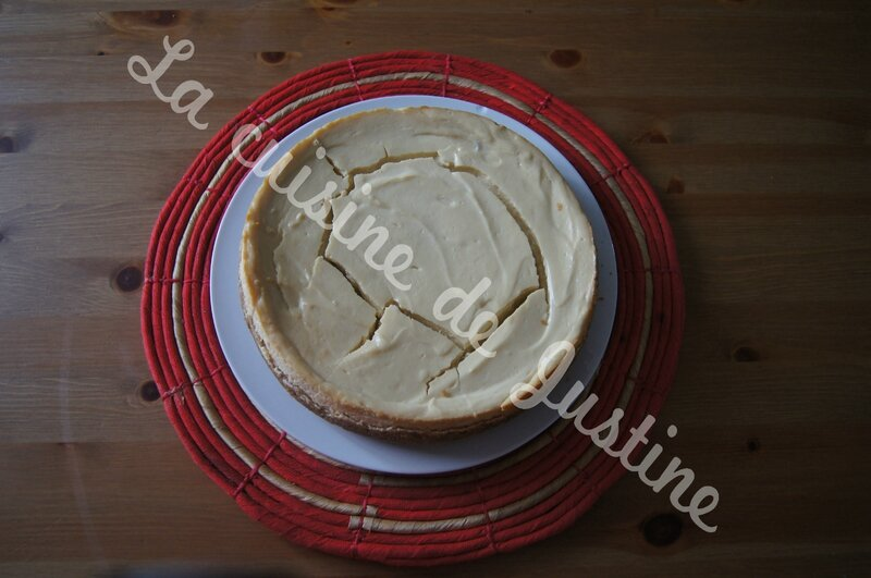cheesecake sismique