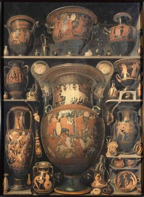 Alexandre-Isidore Leroy de Barde (1777-1828), cabinets de curiosités