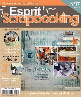 ESPRIT SCRAPBOOKING NR 17