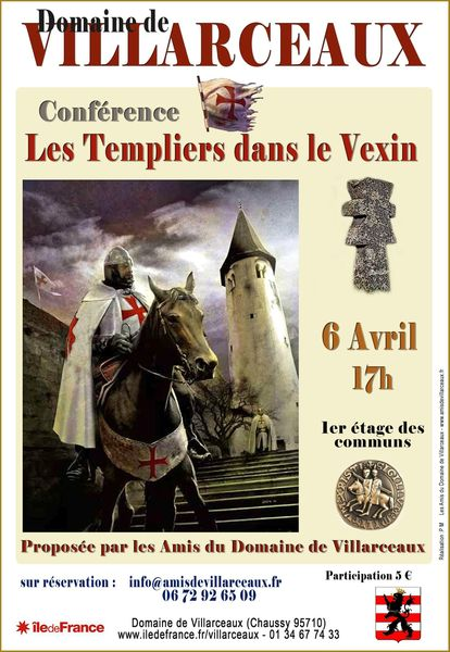 Affiche Confrence Templiers