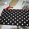 Pochette black and white