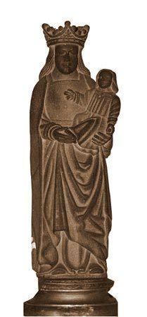 Le Folgoët, Statue de Notre Dame