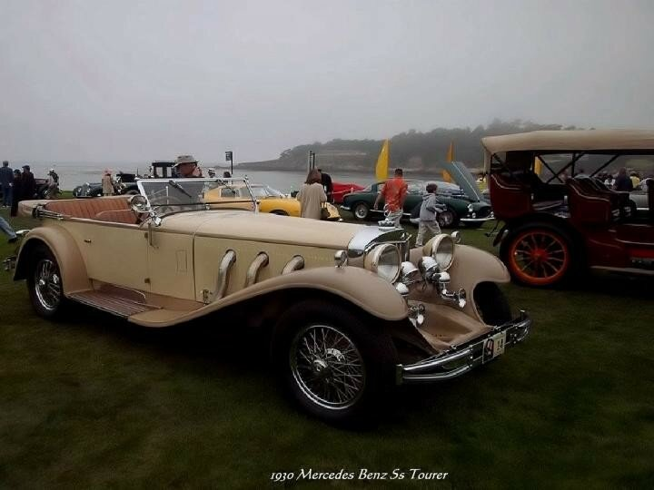 1930 - Mercedes Benz 5s Tourer