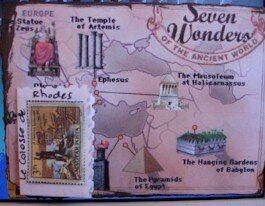 252 - Swap 7 merveilles du monde décembre 06