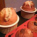 Muffins yaourt et pépites de papillotes (version maxi)