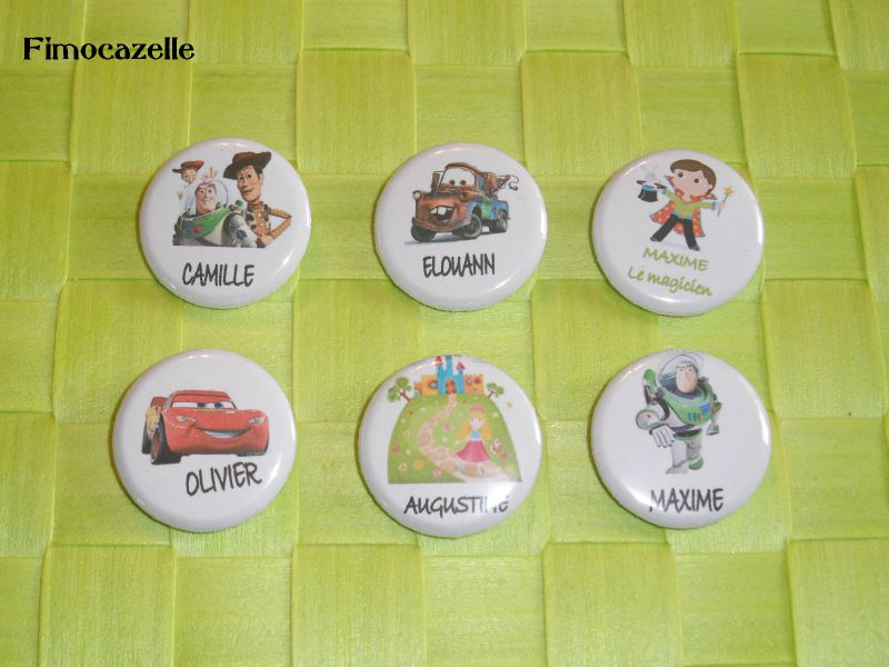 badges enfants