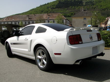FORD Mustang GT CS (California Special) Coupe 2007 2009 Bourse d'Echanges Auto-Moto de Châtenois 2011 2