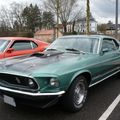 FORD Mustang Mach 1 fastback coupé 1969 Haguenau (1)