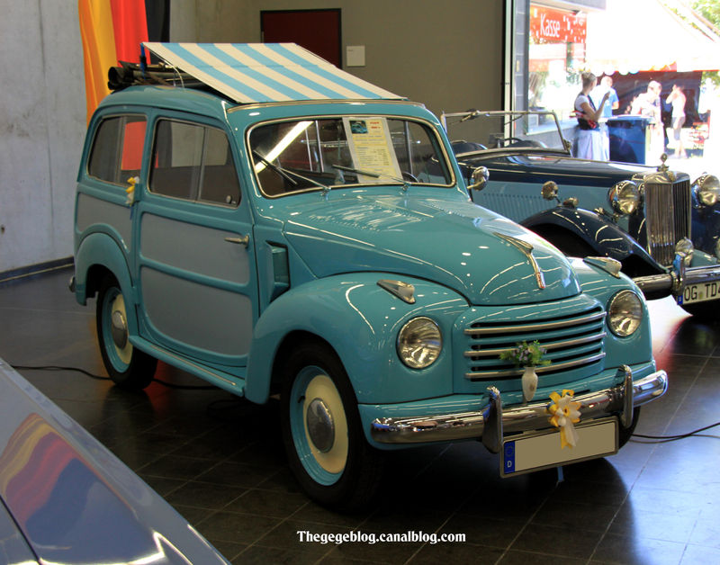 fiat 500 c topolino belvedere de 1953 (regiomotoclassica 2011) 01