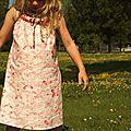 Le papillon et les fleurs des champs