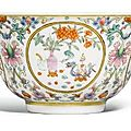 A famille-rose cup, daoguang mark and period