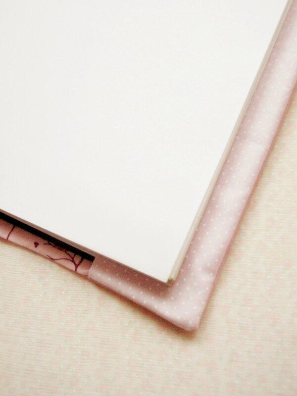 diy-protege-carnet-pois-hiboux-rose-tissu