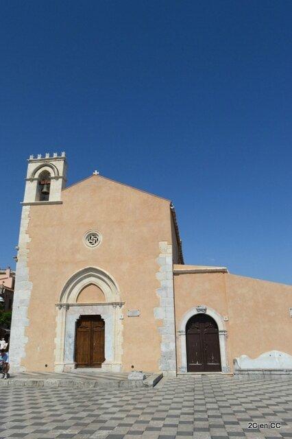 Chiesa San Agostino - Taormine - Sicile
