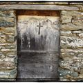 Porte d'une Chapelle du Nebbiu, Haute Corse...
