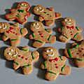 Gingerbread men (bonhommes de pain d'épices)
