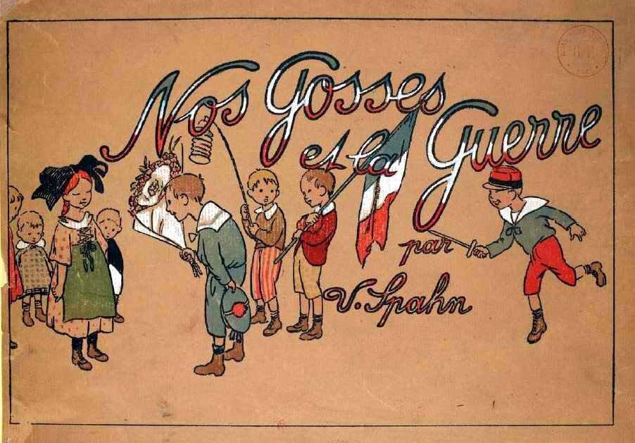 Les livres jeunesse pendant la Grande Guerre