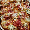 Cannelloni aux épinards et ricotta mais façon jamie oliver !