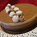 Torta três mousses ( tarte mousse au 3 chocolat)