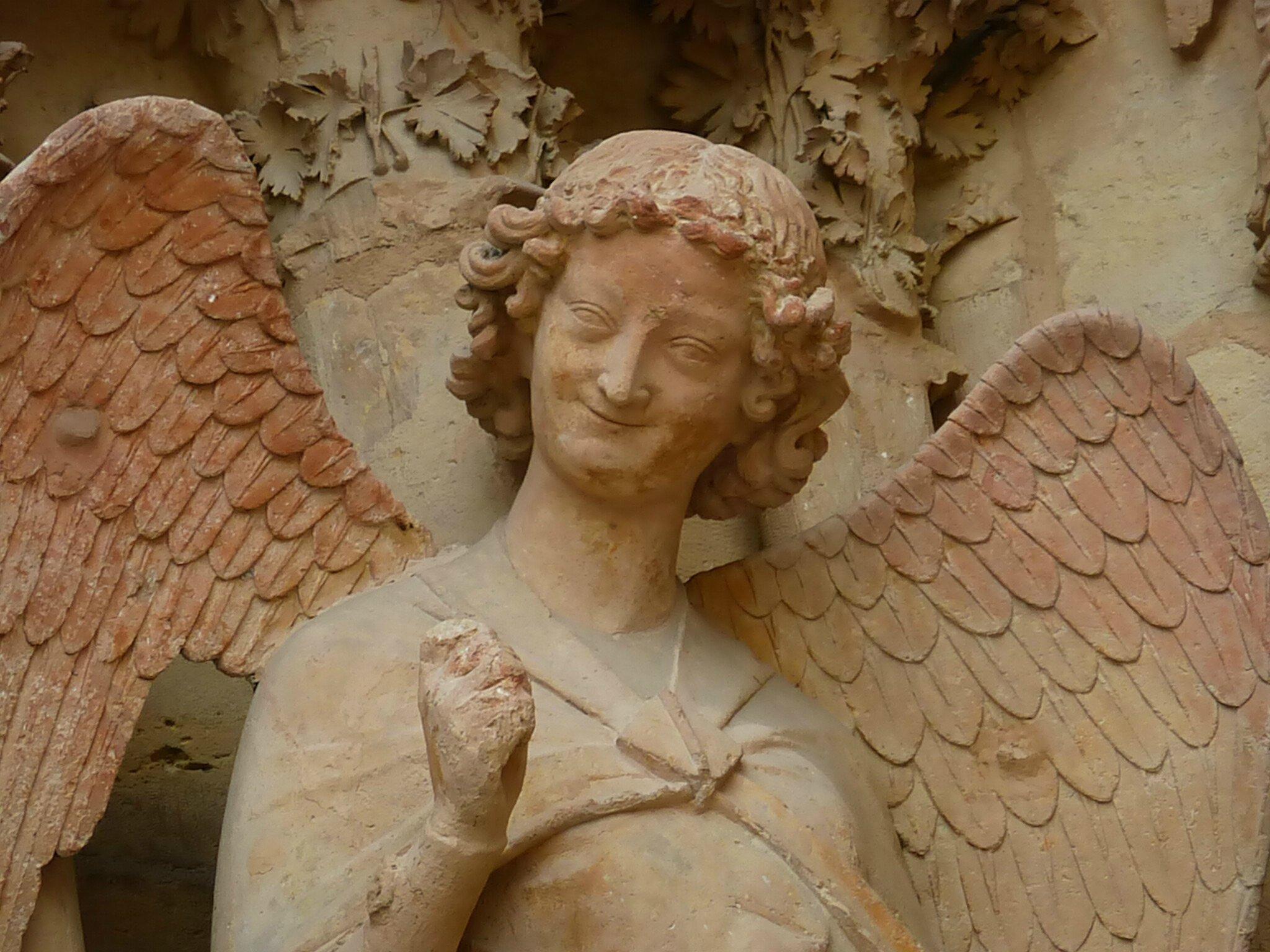 L'Ange au sourire (Cathédrale Notre-Dame)