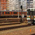 Nagoya, JR 313 & 211.