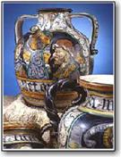 Saca ceramica d'arte