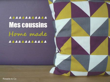 Rosalie and co_coussin home made