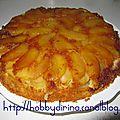 Quatre-quarts aux pommes façon tatin / кекс четыре четверти с яблоками а ля татэн