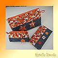 accessoires jean-velours-fleurs oranges 1