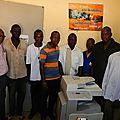 Un photocopieur pour le lycée de sabcé