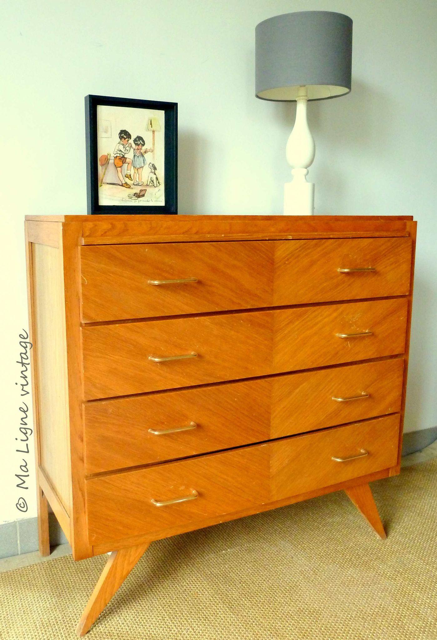 la commode seino ma ligne vintage. Black Bedroom Furniture Sets. Home Design Ideas